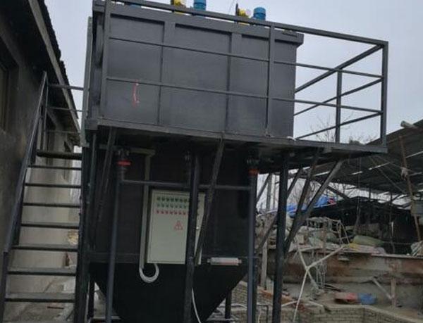 孝感黄兰英塑料厂污水处理工程