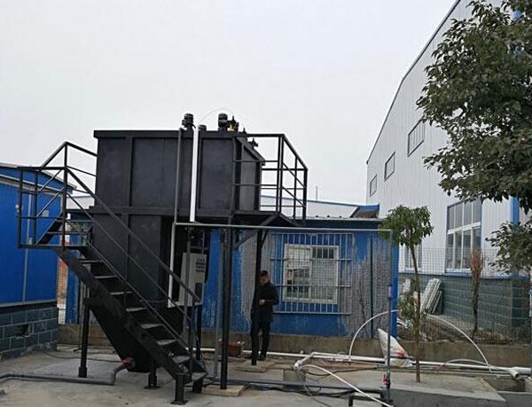孝感三三塑料厂污水处理项目