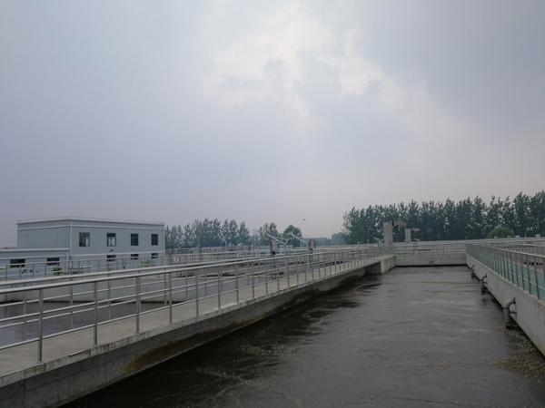 湖北汉川城市污水处理厂